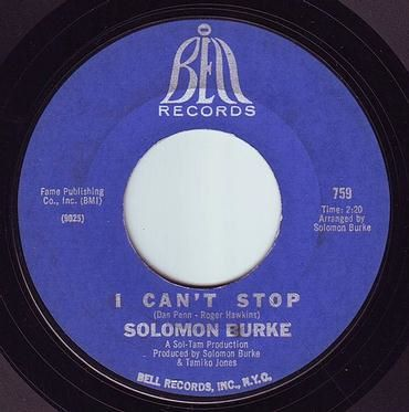 SOLOMON BURKE - I CAN'T STOP - BELL