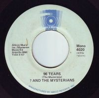 ? AND THE MYSTERIANS - 96 TEARS - ABKCO