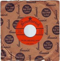 JACKIE WILSON - YOU DON'T KNOW WHAT IT MEANS - BRUNSWICK
