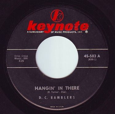 D.C. RAMBLERS - HANGIN' IN THERE - KEYNOTE