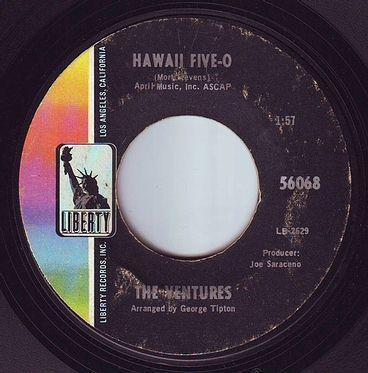 VENTURES - HAWAII FIVE-O - LIBERTY