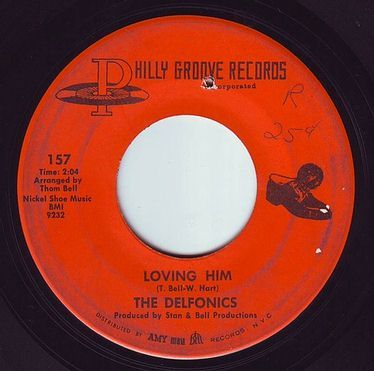 DELFONICS - LOVING HIM - PHILLY GROOVE