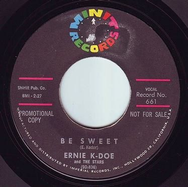 ERNIE K-DOE - BE SWEET - MINIT DEMO