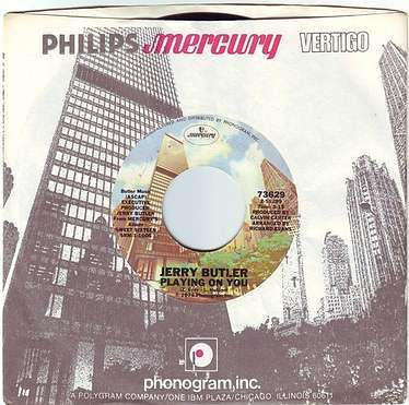 JERRY BUTLER - PLAYING ON YOU - MERCURY