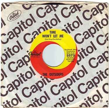 OUTSIDERS - TIME WON'T LET ME - CAPITOL