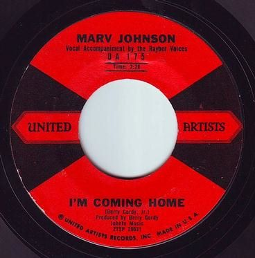 MARV JOHNSON - I'M COMING HOME - UA