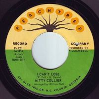 MITTY COLLIER - I CAN'T LOSE - PEACHTREE