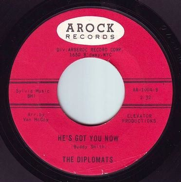 DIPLOMATS - HE'S GOT YOU NOW - AROCK