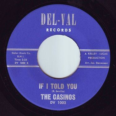CASINOS - IF I TOLD YOU - DEL VAL
