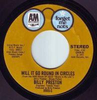 BILLY PRESTON - WILL IT GO ROUND IN CIRCLES - A&M F.M.N.
