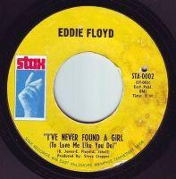 EDDIE FLOYD - I'VE NEVER FOUND A GIRL - STAX