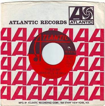 ARCHIE BELL & THE DRELLS - I LOVE MY BABY - ATLANTIC