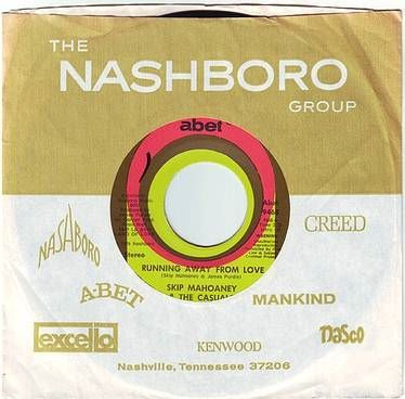 SKIP MAHOANEY & THE CASUALS - RUNNING AWAY FROM LOVE - ABET