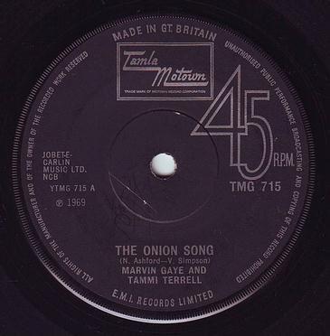 MARVIN GAYE & TAMMI TERRELL - THE ONION SONG - TMG 715