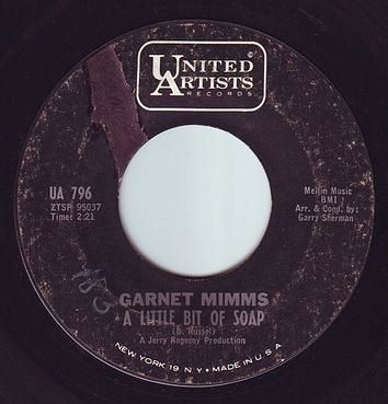 GARNET MIMMS - A LITTLE BIT OF SOAP - UA