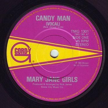 MARY JANE GIRLS - CANDY MAN - GORDY