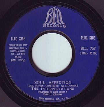 INTERPERTATIONS - SOUL AFFECTION - BELL DEMO