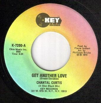 CHANTAL CURTIS - GET ANOTHER LOVE - KEY