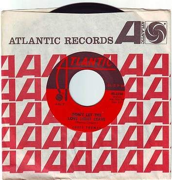 CARLA THOMAS - DON'T LET THE LOVE LIGHT LEAVE - ATLANTIC