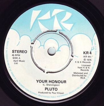 PLUTO - YOUR HONOUR - KR