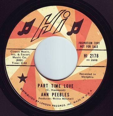 ANN PEEBLES - PART TIME LOVE - HI DEMO