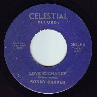 SONNY CRAVER - LOVE EXCHANGE - CELESTIAL