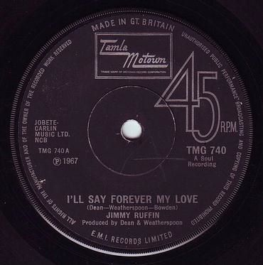 JIMMY RUFFIN - I'LL SAY FOREVER MY LOVE - TMG 740