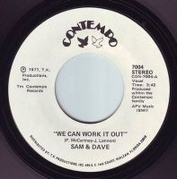 SAM & DAVE - WE CAN WORK IT OUT - CONTEMPO