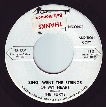 FURYS - ZING! WENT THE STRINGS OF MY HEART - MACK IV DEMO