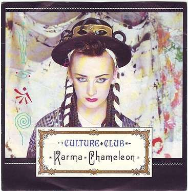 CULTURE CLUB - KARMA CHAMELEON - VIRGIN