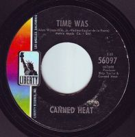 CANNED HEAT - TIME WAS - LIBERTY