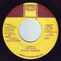 STEVIE WONDER - LATELY - TAMLA
