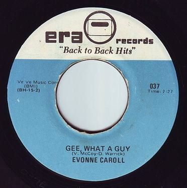 EVONNE CAROLL - GEE WHAT A GUY - ERA B.T.B.H.