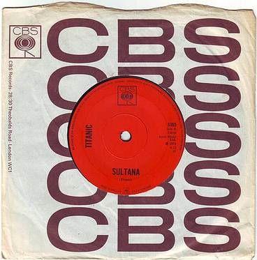 TITANIC - SULTANA - CBS
