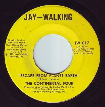 CONTINENTAL FOUR - ESCAPE FROM PLANET EARTH - JAY WALKING
