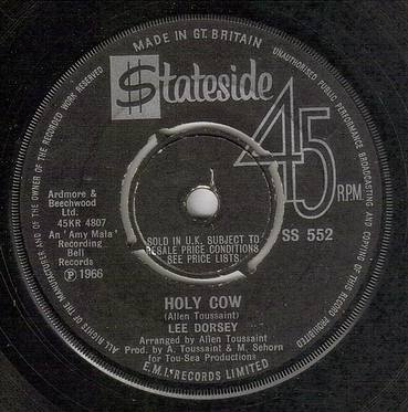 LEE DORSEY - HOLY COW - STATESIDE