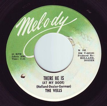 VELLS - THERE HE IS (AT MY DOOR) - MELODY