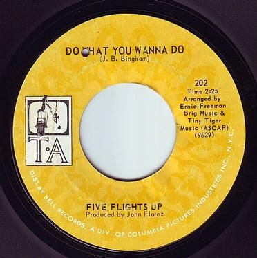 FIVE FLIGHTS UP - DO WHAT YOU WANNA DO - TA