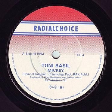 TONI BASIL - MICKEY - RADIALCHOICE
