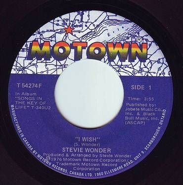 STEVIE WONDER - I WISH - MOTOWN