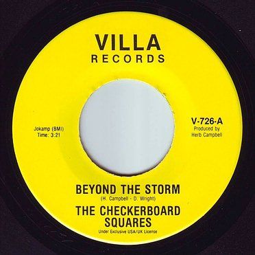 CHECKERBOARD SQUARES - BEYOND THE STORM - VILLA