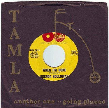 BRENDA HOLLOWAY - WHEN I'M GONE - TAMLA