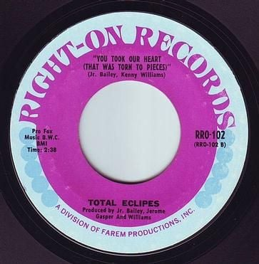 TOTAL ECLIPES - YOU TOOK OUR HEART - RIGHT ON