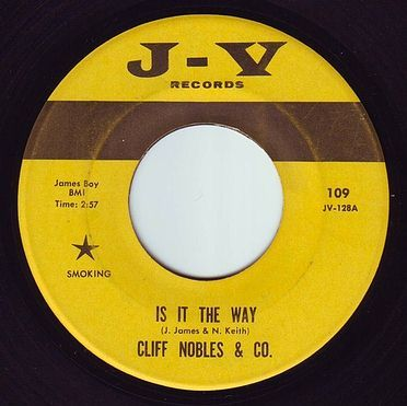 CLIFF NOBLES & CO - IS IT THE WAY - J V