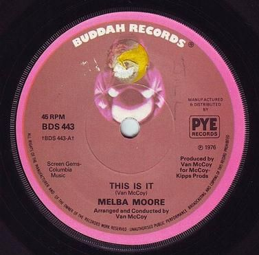 MELBA MOORE - THIS IS IT - BUDDAH