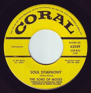 SONS OF MOSES - SOUL SYMPHONY - CORAL DEMO