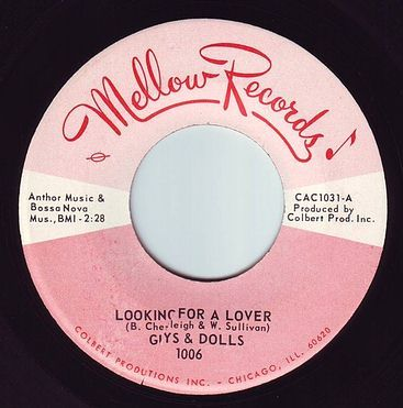 GUYS & DOLLS - LOOKING FOR A LOVER - MELLOW
