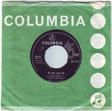 DAVE CLARK FIVE - DO YOU LOVE ME - COLUMBIA