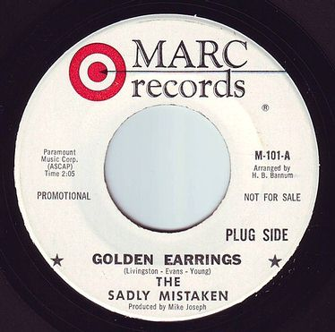 SADLY MISTAKEN - GOLDEN EARRINGS - MARC DEMO