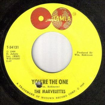 MARVELETTES - YOU'RE THE ONE - TAMLA